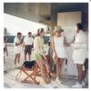 Tennis In The Bahamas by Slim Aarons