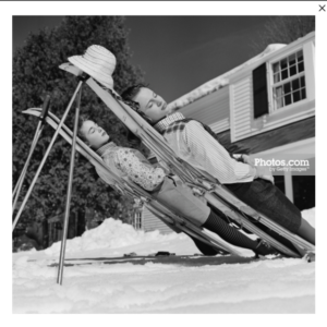 New England Skiing by Slim Aarons