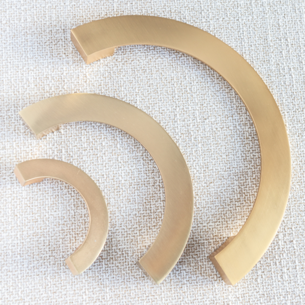 Crescent håndtak gull